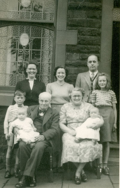 The Ormerod family in 1952